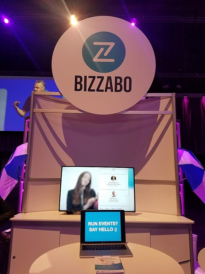 bizzabo booth