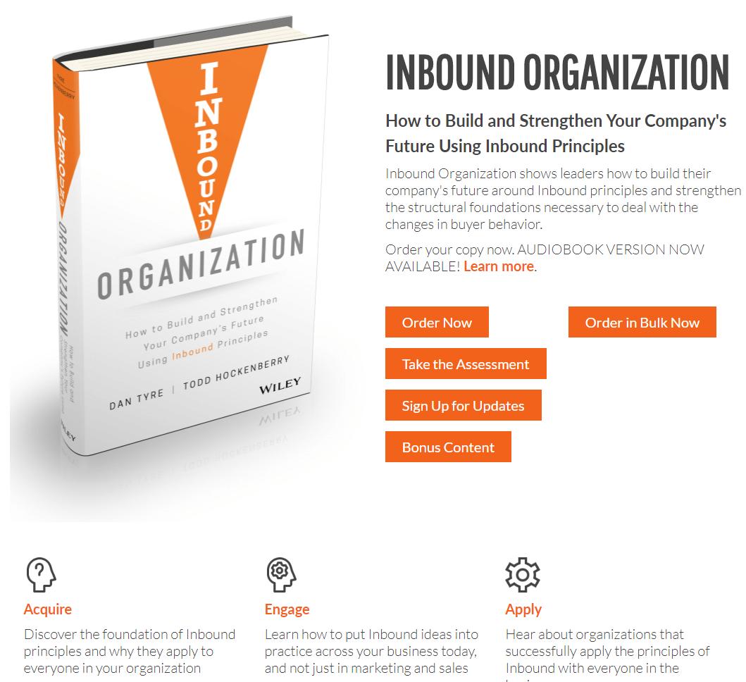 inbound organization book